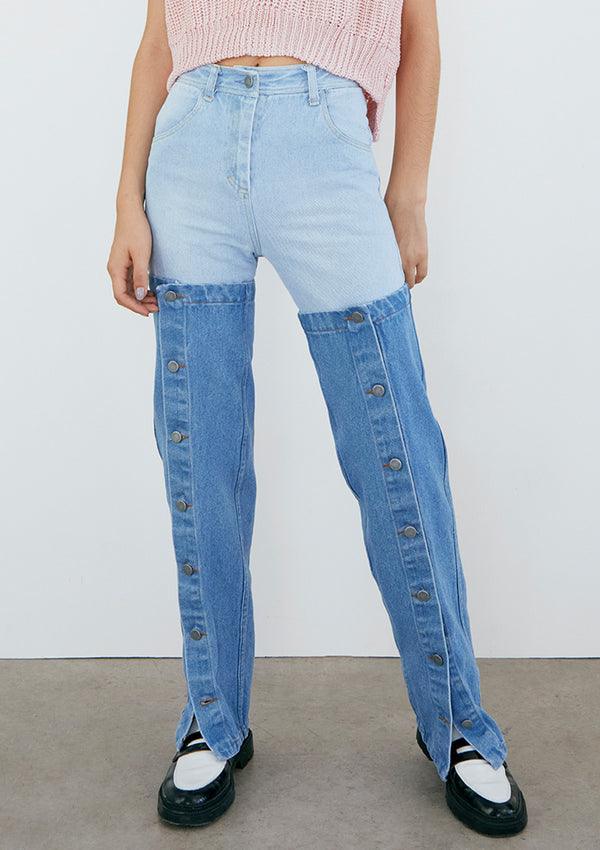EARLY BIRD Jeans Pepe Polainas Light Blue Denim