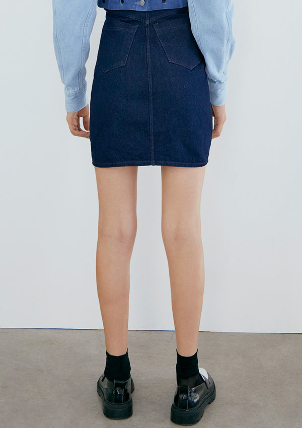 EARLY BIRD Falda Nicolay Dark Blue Denim