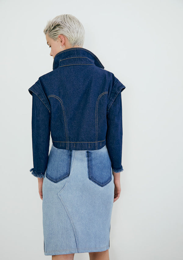 EARLY BIRD Falda Gotti Double Denim