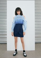 PRE ORDER Falda Nicolay Dark Blue Denim