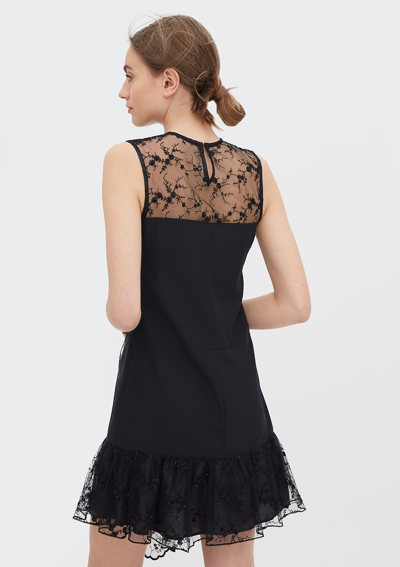 VESTIDO ELITE NEGRO LH BY LORAINE