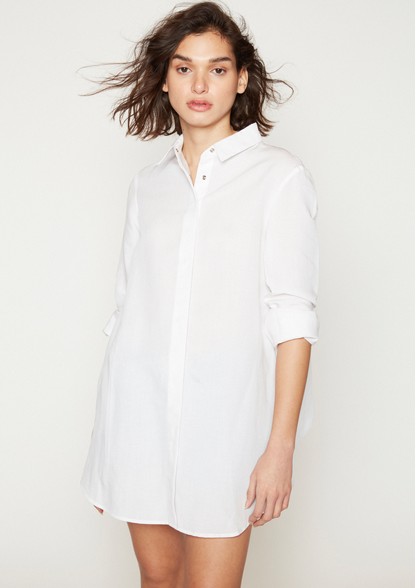 camisa bamby blanca lh by loraine