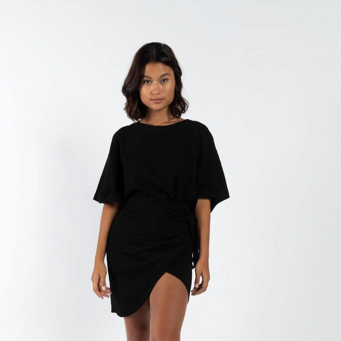 ATE TOP LINEN-TOP-kohei.island.co-M-BLACK-KOHEI