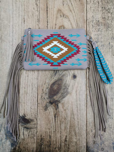 Aztec Collection Handbag and Purse