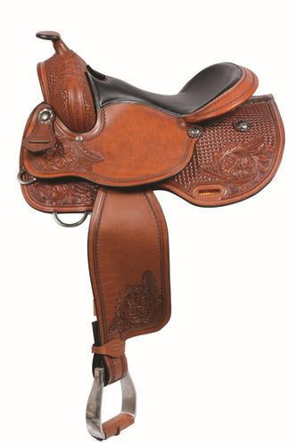 Combo Flower Trail Saddle By Country Legend - FG Pro Shop Inc.