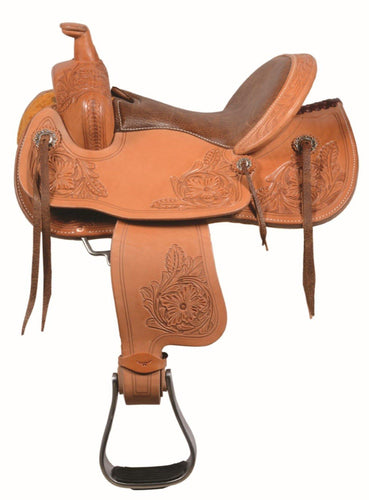 Golden Youth Saddle by Western Rawhide - FG Pro Shop Inc.