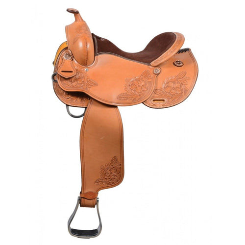 Hopper Trail Tooled Saddle By Country Legend - FG Pro Shop Inc.