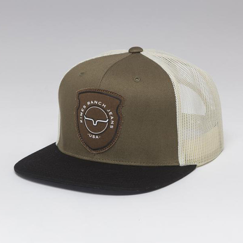Kimes Ranch Relative Trucker Cap - Army