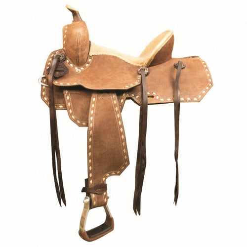 Little Buck Youth Saddle By Country Legend - Tan - FG Pro Shop Inc.