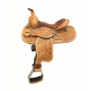 "Little Flower Pony Saddle 10"" - FG Pro Shop Inc."