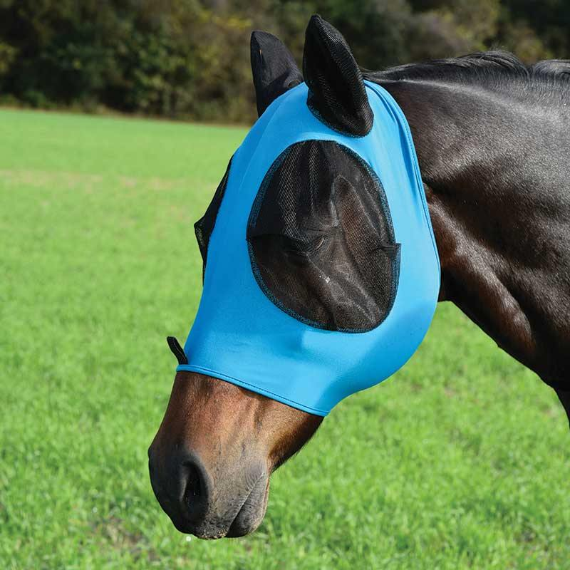 Lycra Fly Mask with Zipper by Equi-Sky