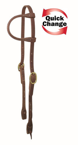 Quick Change One Ear Headstall - FG Pro Shop Inc.