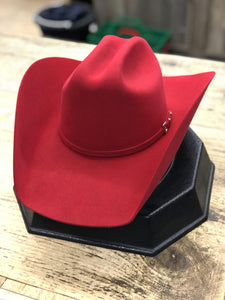 Rodeo King 7X Felt Red Low Rodeo