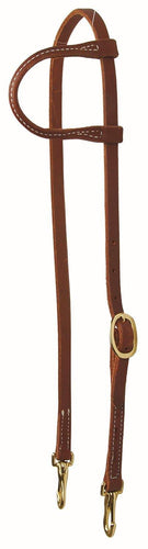 One Ear Headstall With Brass Snaps - FG Pro Shop Inc.