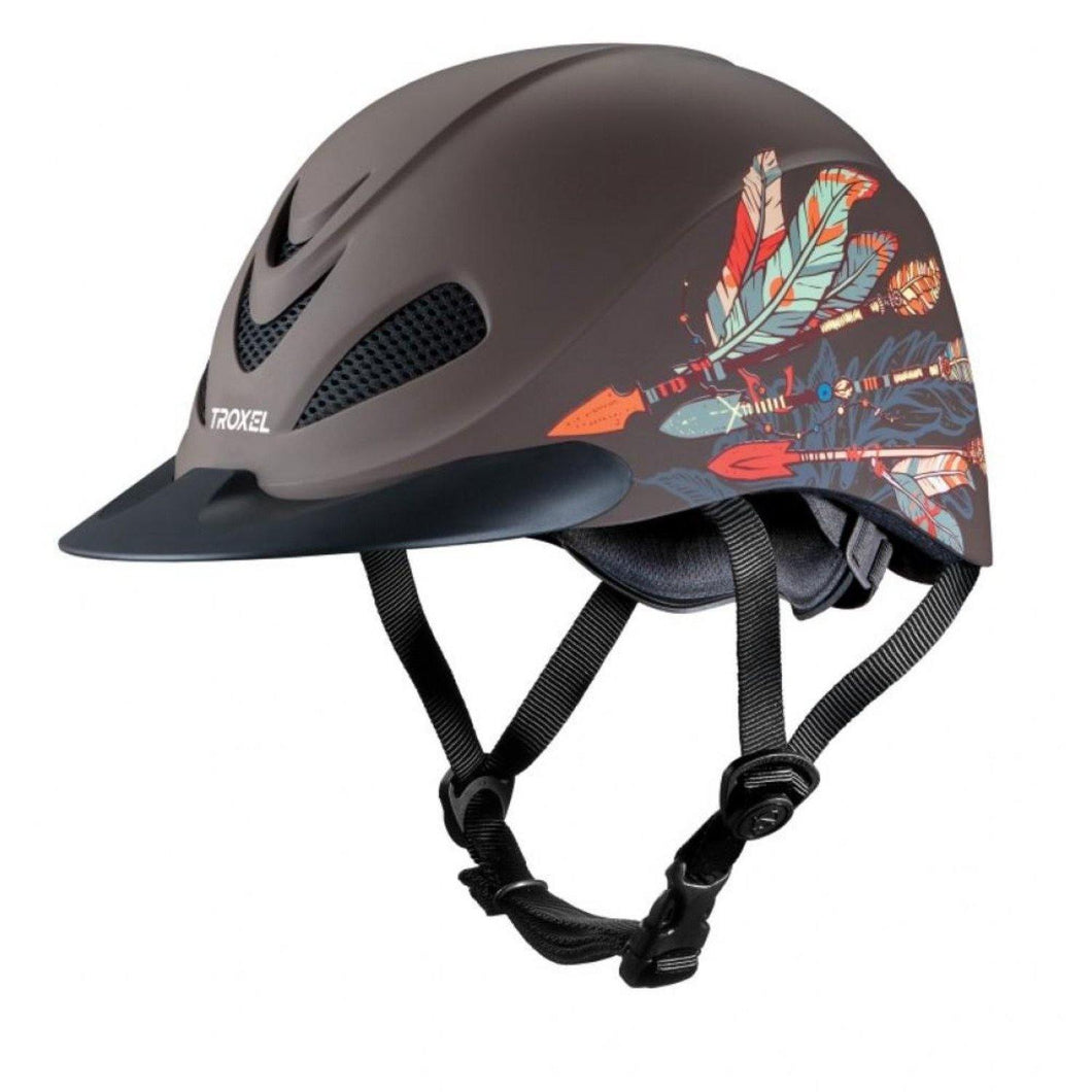 Troxel Rebel Low Profile Western Helmet with Arrow Style