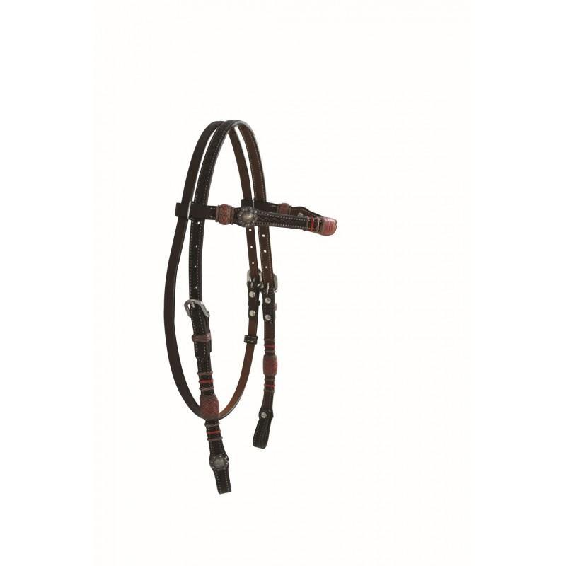 Chevron Series Browband Headstall By Jim Taylor Performance - FG Pro Shop Inc.