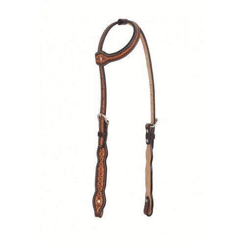 Infinity Series Scallop One Ear Headstall By Jim Taylor Performance - FG Pro Shop Inc.