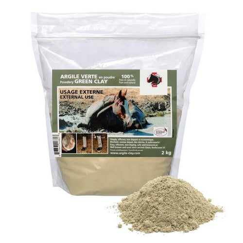 100% Natural External Green Clay 2kg - FG Pro Shop Inc.