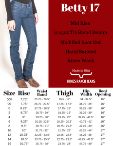 Betty 17 By Kimes Ranch Jeans - FG Pro Shop Inc.