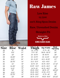 Raw James By Kimes Ranch Jeans - FG Pro Shop Inc.