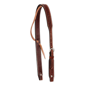 FG_Pro_Shop_Headstall_Slip_Ear_Rosewood_Spider_Stamp