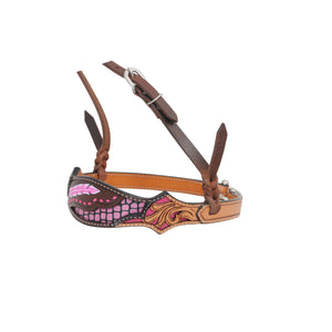 Country Legend Gator & Feathers Noseband