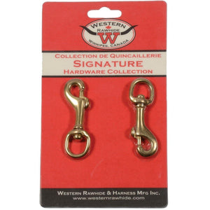 Round Eye Swivel Bolt Snap Lightweight Solid Bronze