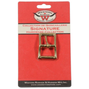 no150 Roller Buckle Chrome Plated Bronze