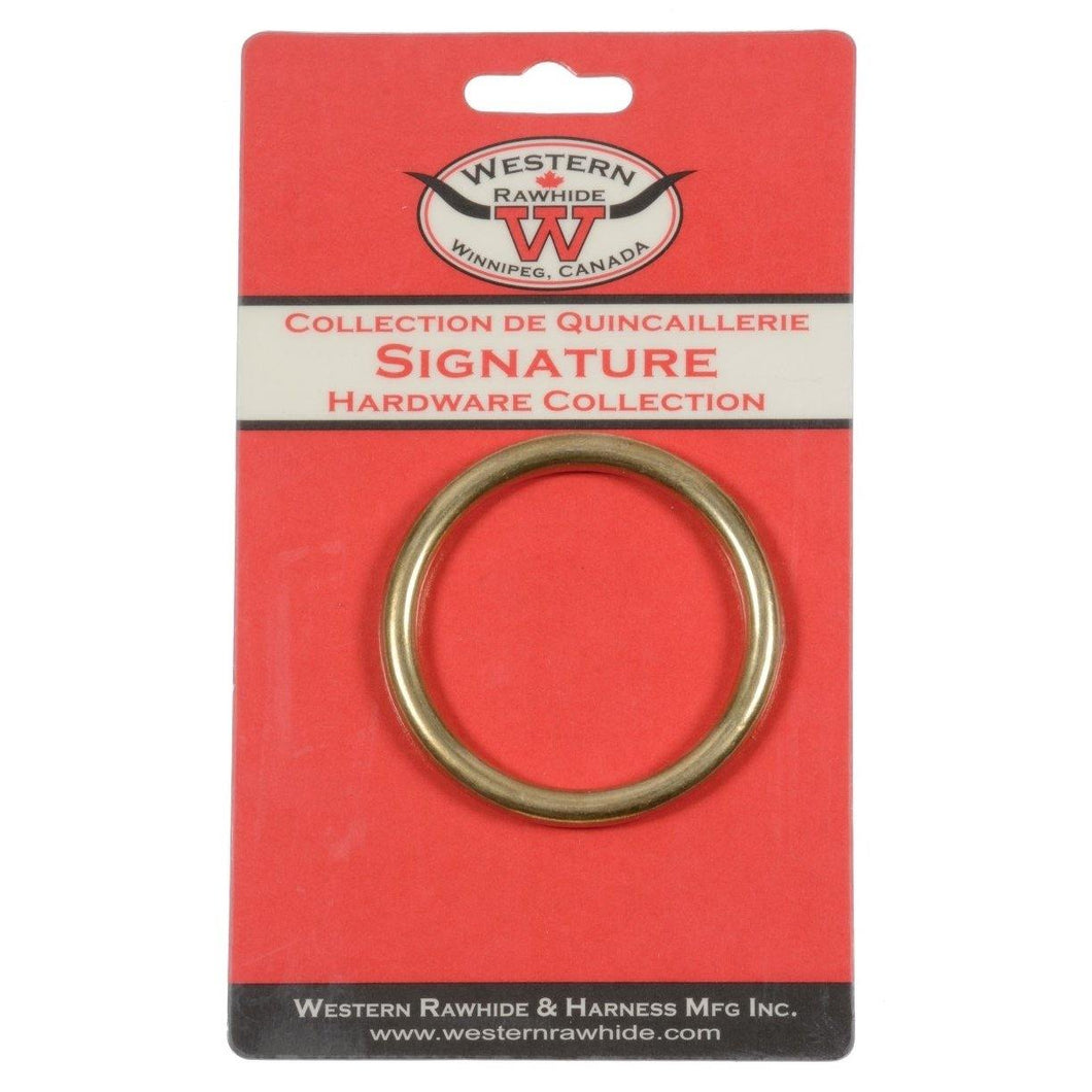Harness Ring Solid Bronze