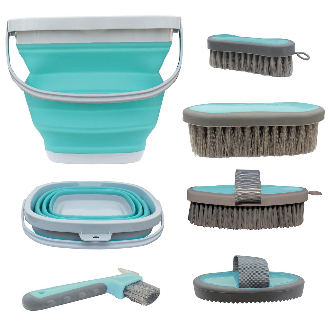 Professionals Choice Grooming Kit with Collapsible Bucket