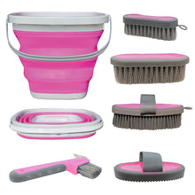Load image into Gallery viewer, Professionals Choice Grooming Kit with Collapsible Bucket