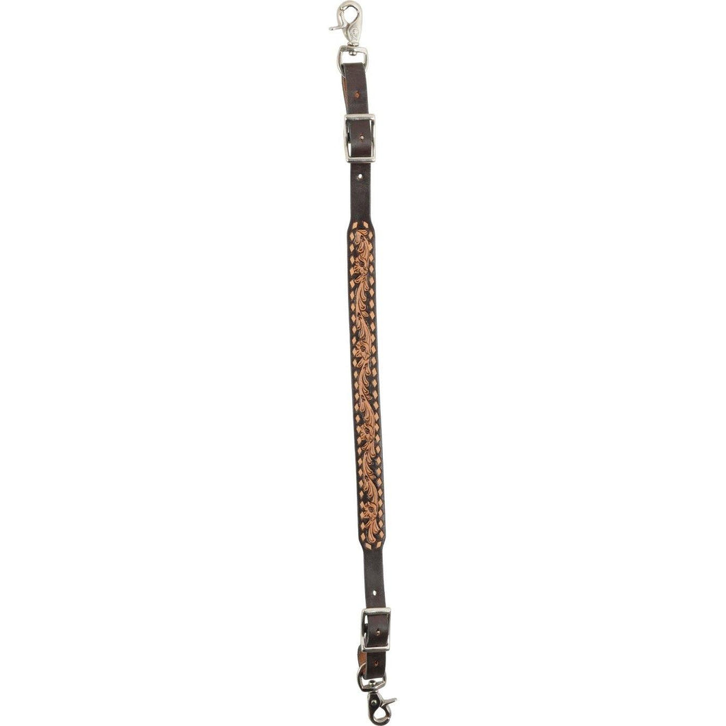 2-Tone Bead Inlay Wither Strap Tan