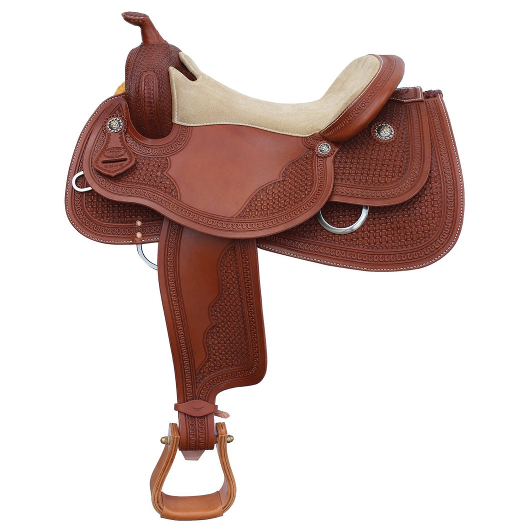 Tyson Pro Reiner Saddle By Western Rawhide