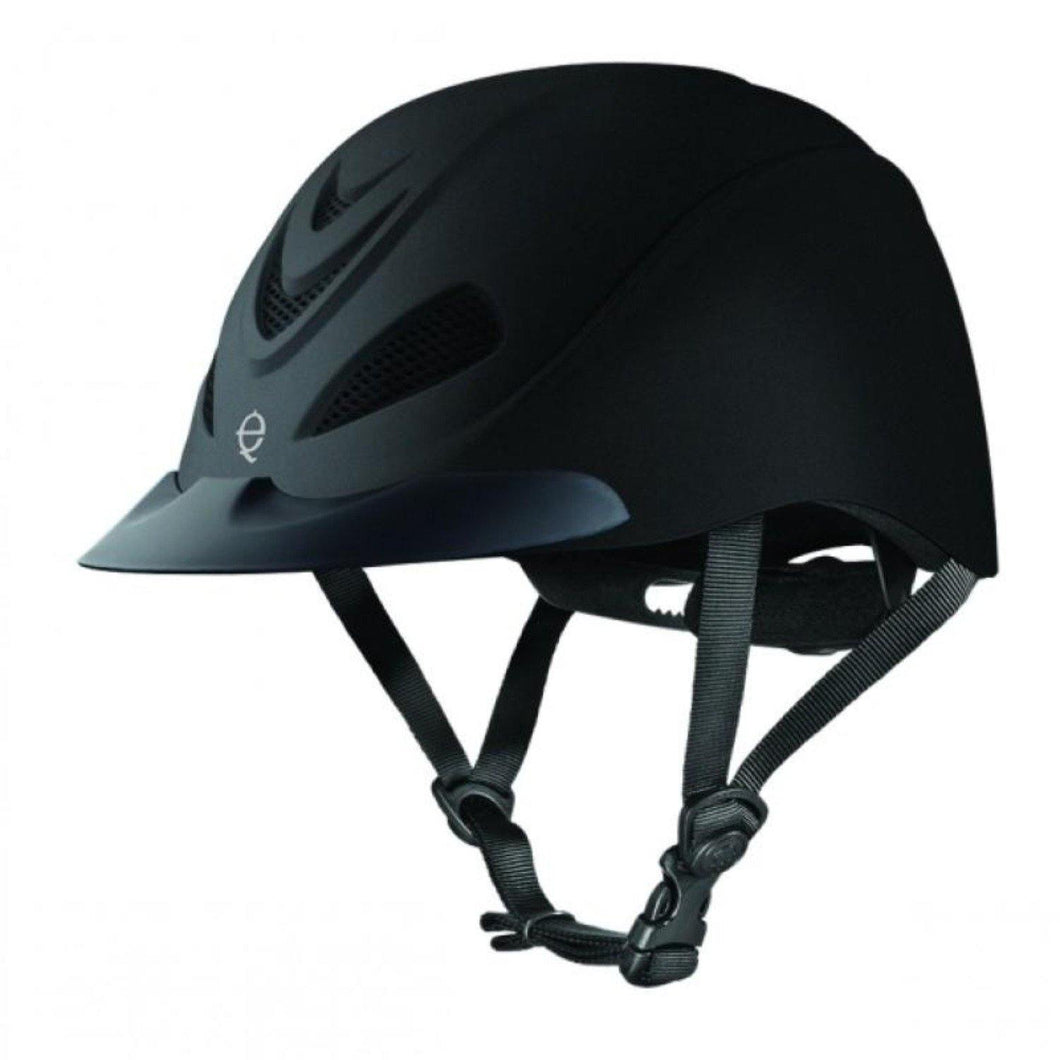 Troxel Liberty Low Profile Schooling Helmet with Black Duratech Style