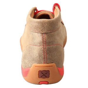Mens Twisted X Bomber/Red Driving Moccasins - FG Pro Shop Inc.