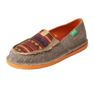 Womens Twisted X Eco TWX Dust Multi Casual Loafer Moccasins