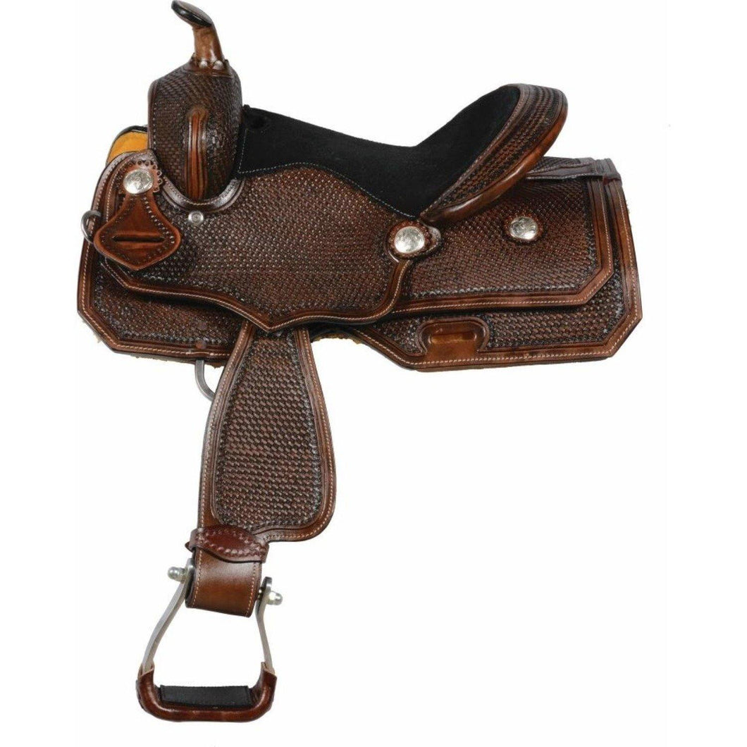 Country Legend Duke Basket Youth Saddle