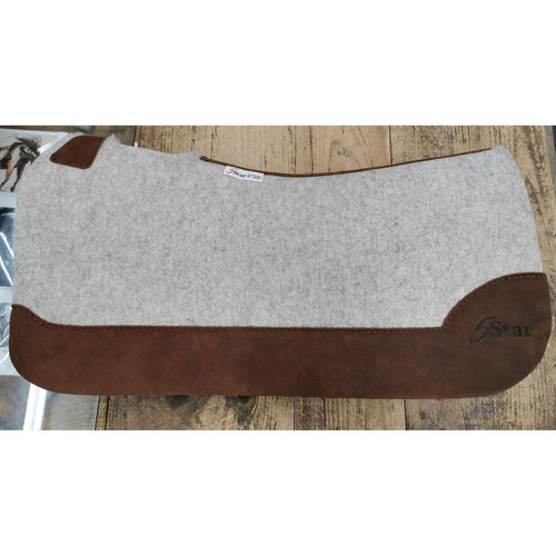 FG Pro Shop Custom Full Leather 5 Star Saddle Pad