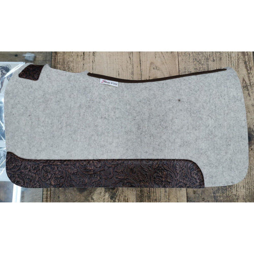 Fg Pro Shop Custom 5 Star Saddle Pad Brown