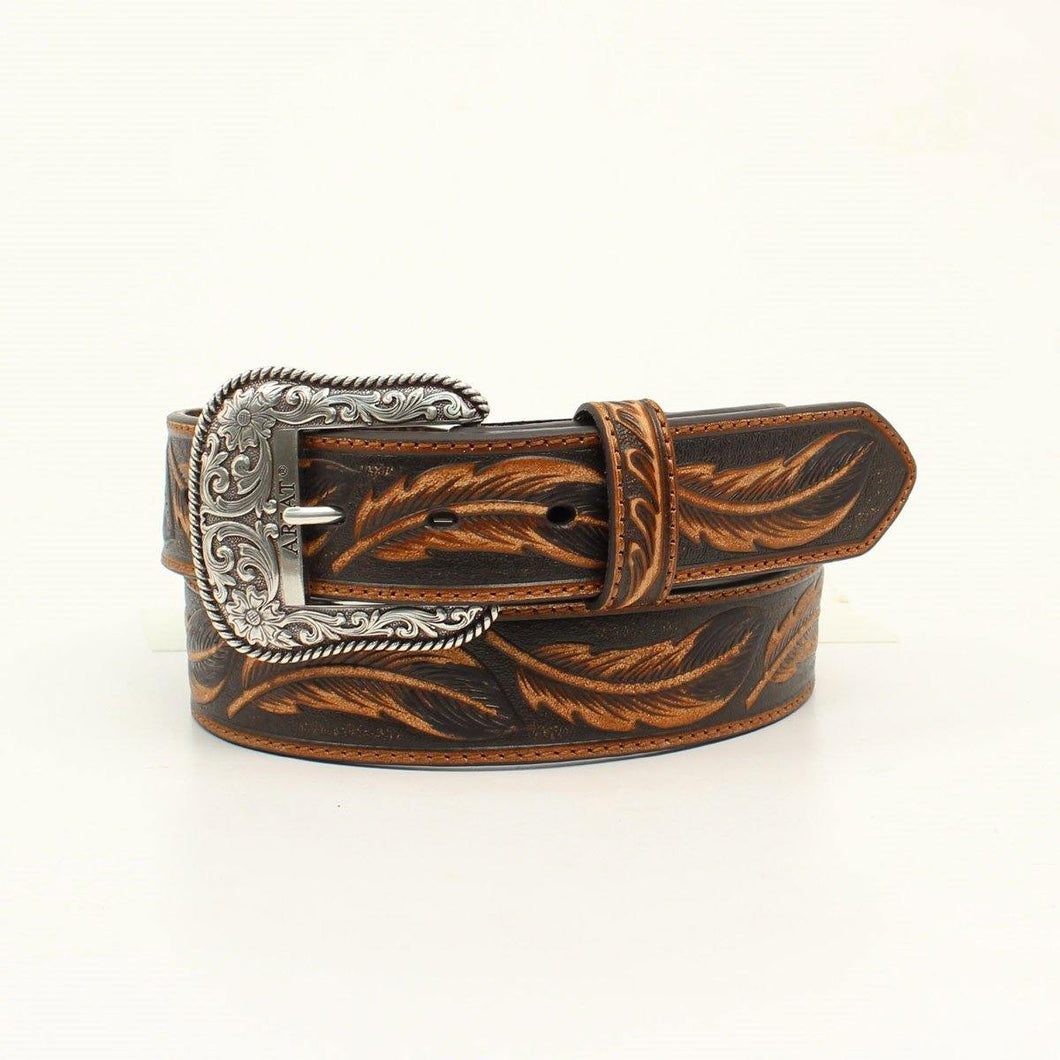 Ariat Mens Western Belt Leaf