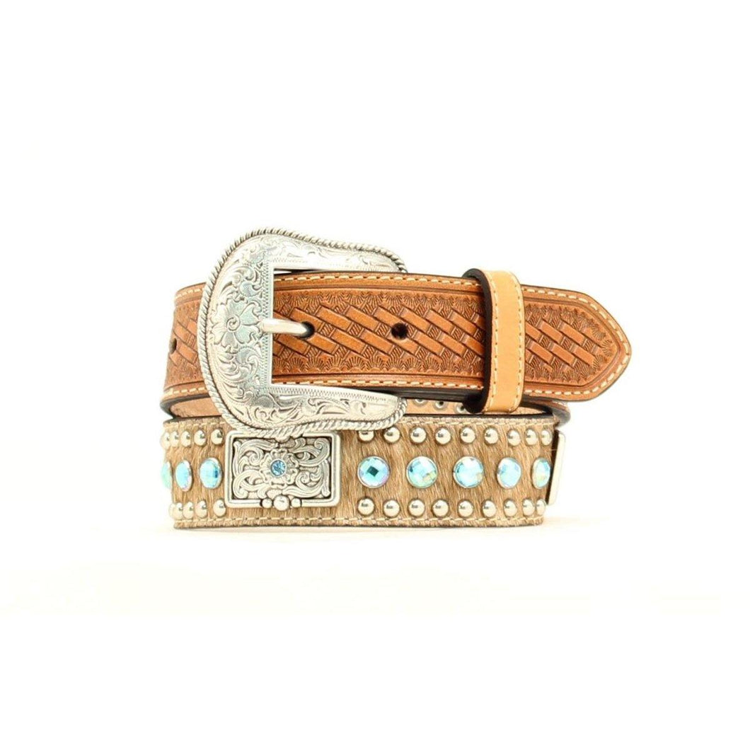 Nocona Kids Calfhair Belt