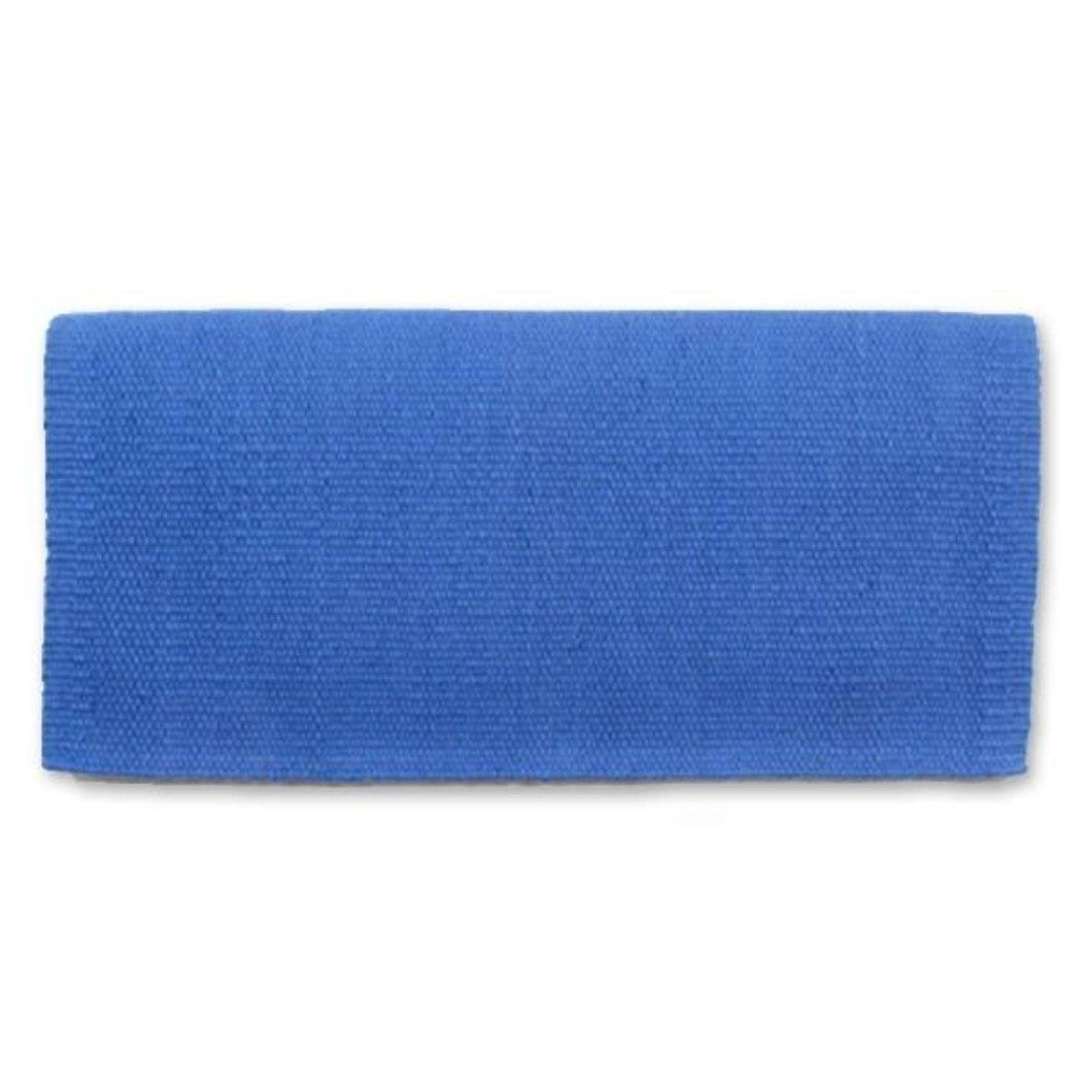 FG Pro Shop Mayatex Wool Saddle Blanket San Juan Periwinkle blue