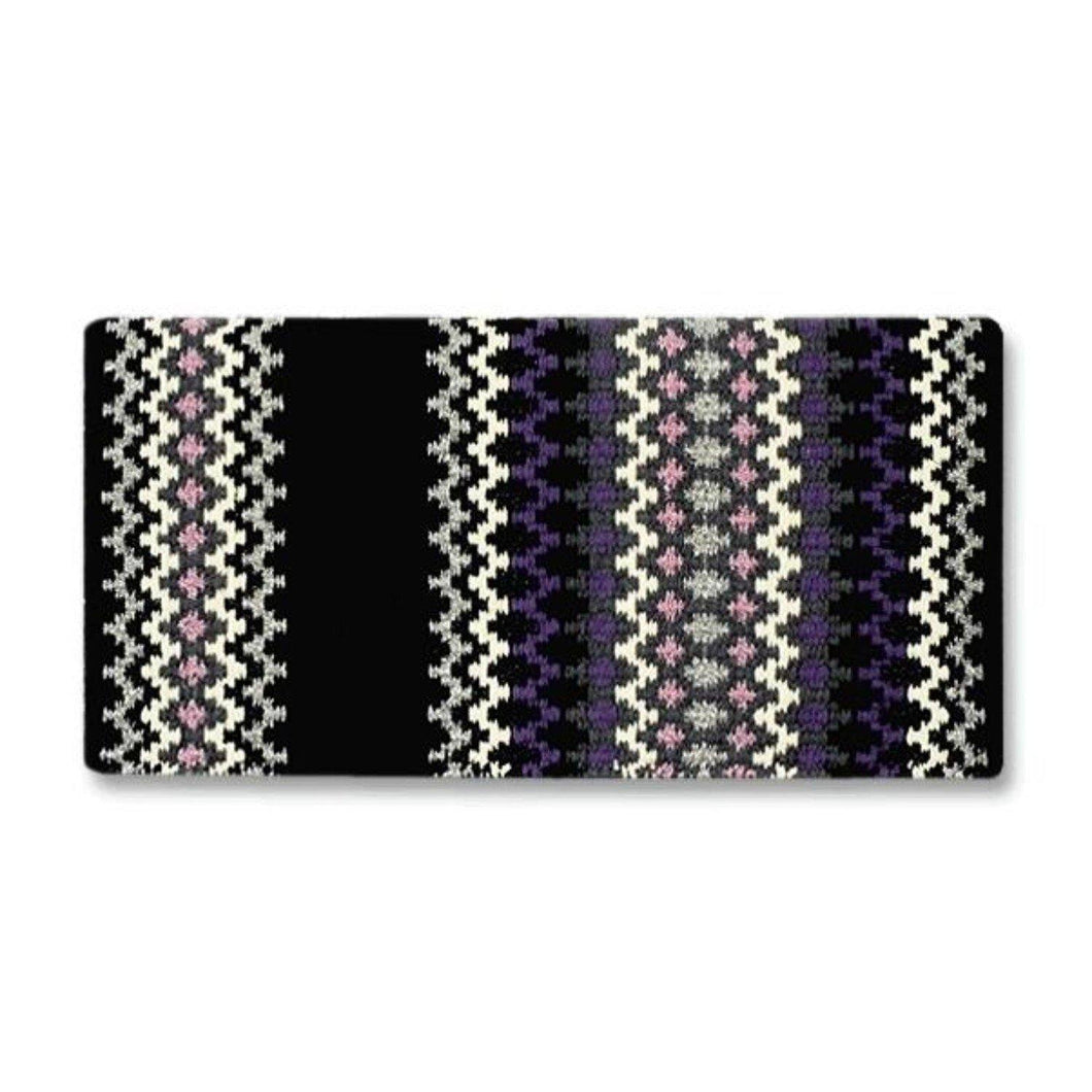 Mayatex Wool Saddle Blanket Luna Purple