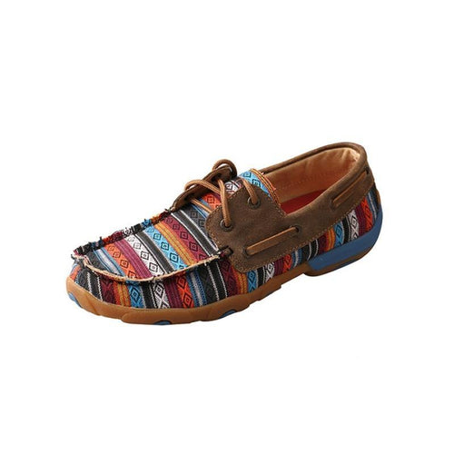 Womens Twisted X Serape / Bomber Driving Moccasins - FG Pro Shop Inc.