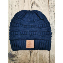 Load image into Gallery viewer, Crowellz Ponytail Tuque Navy - FG Pro Shop Inc.