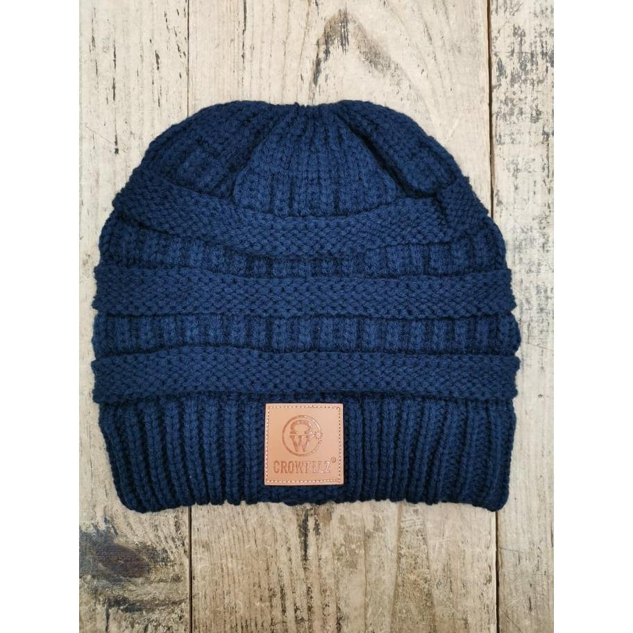 Crowellz Ponytail Tuque Navy - FG Pro Shop Inc.