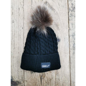 Crowellz Tuque Kids Black