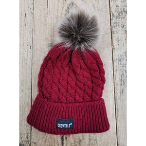 Crowellz Tuque Kids Red - FG Pro Shop Inc.
