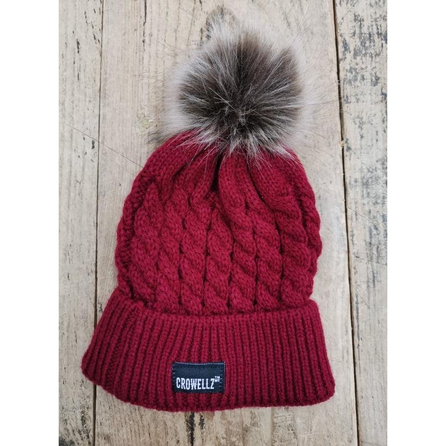 Crowellz Tuque Kids Red