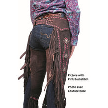 Load image into Gallery viewer, Suede Cowboy Chinks by Western Rawhide